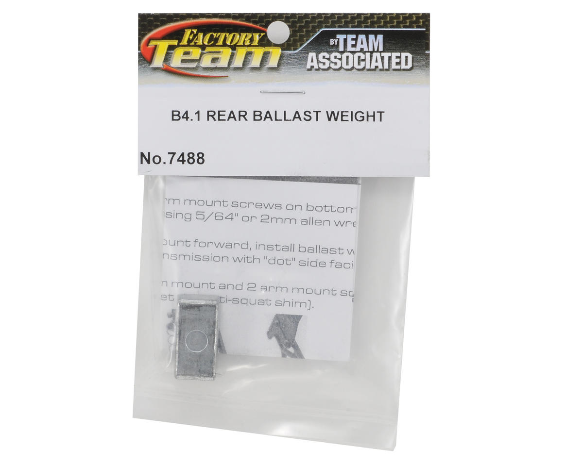 Team Associated Factory Team LiPo Ballast Weight