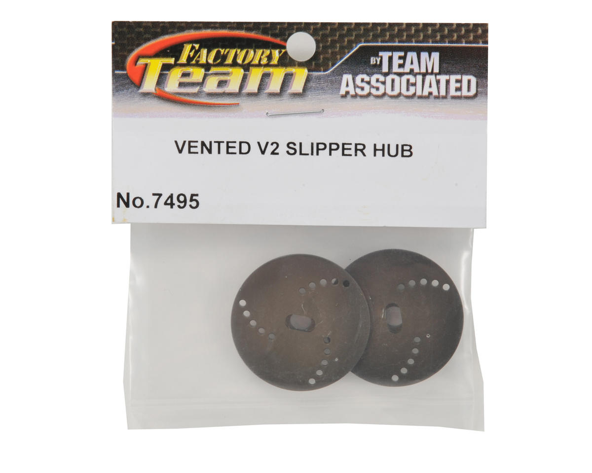 "Team Associated Factory Team Vented ""V2"" Slipper Hub Set"