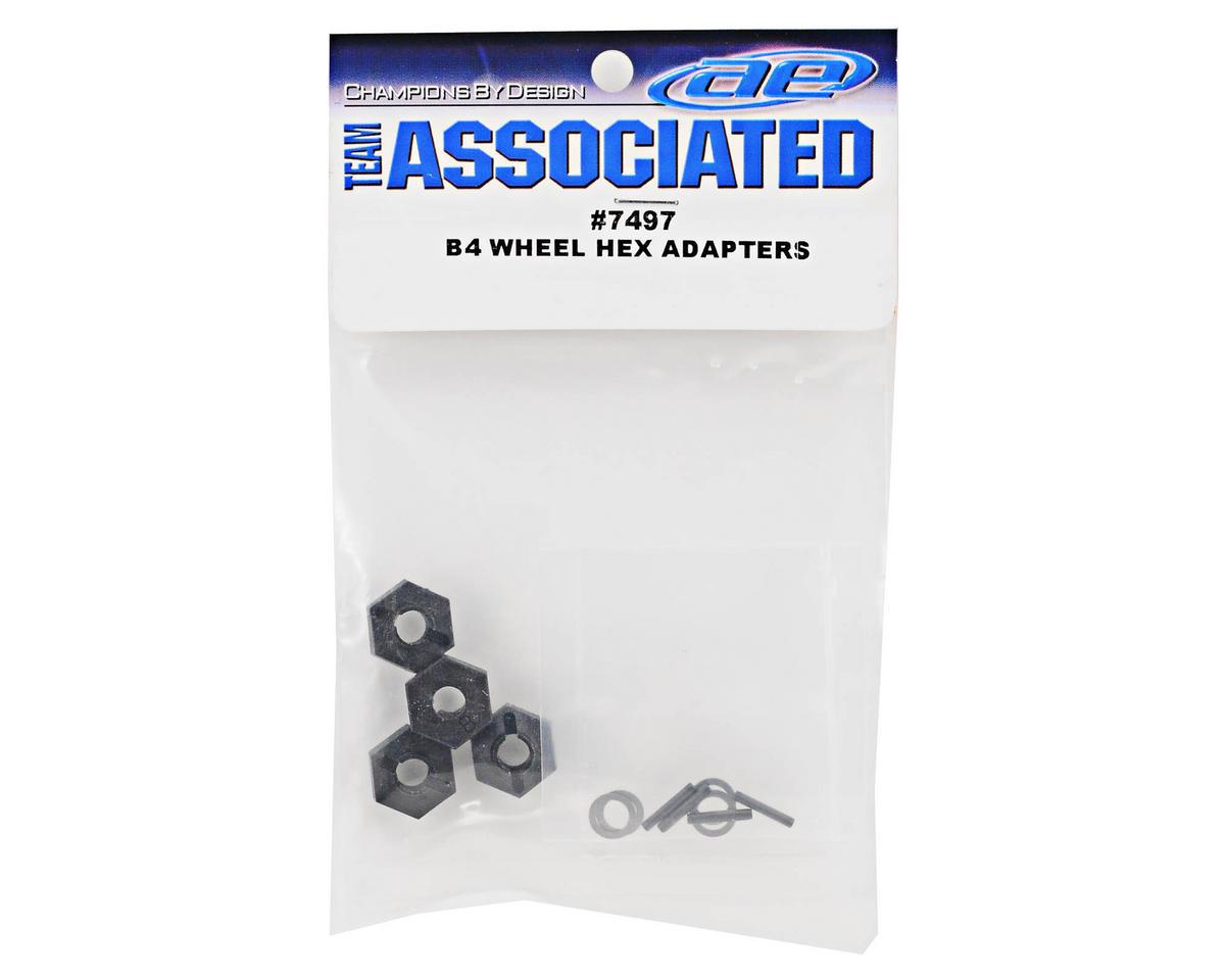 Team Associated B4 Hex Wheel Adapter Set