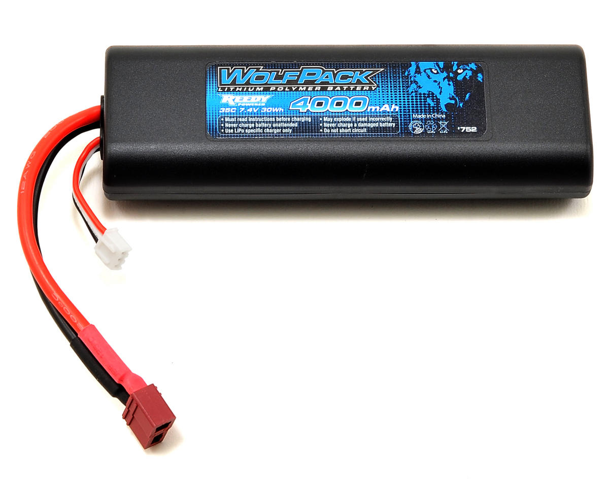 Reedy WolfPack Gen2 2S Hard Case LiPo Battery Pack 35C (7.4V/4000mAh)