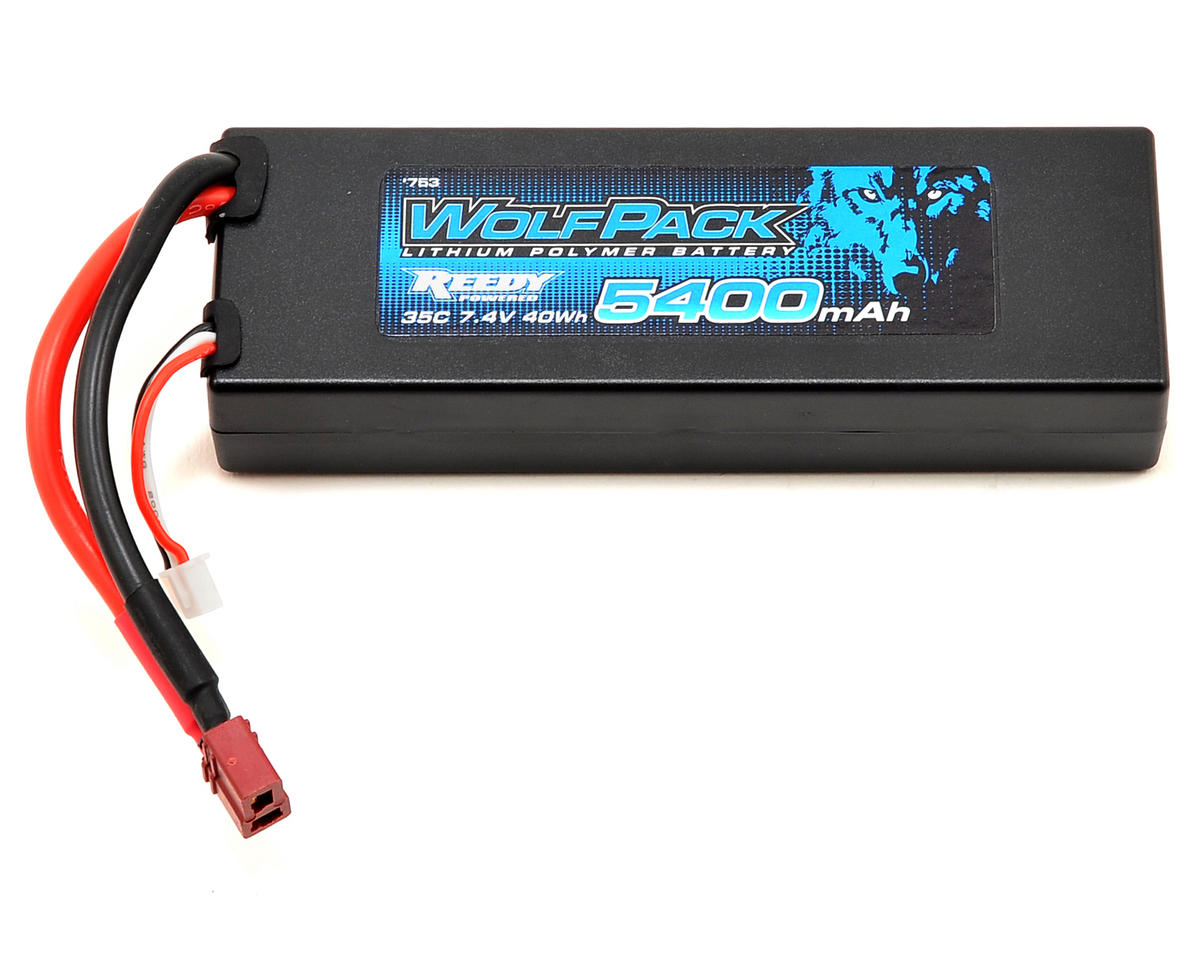 Reedy WolfPack Gen2 2S Hard Case LiPo Battery Pack 35C (7.4V/5400mAh)