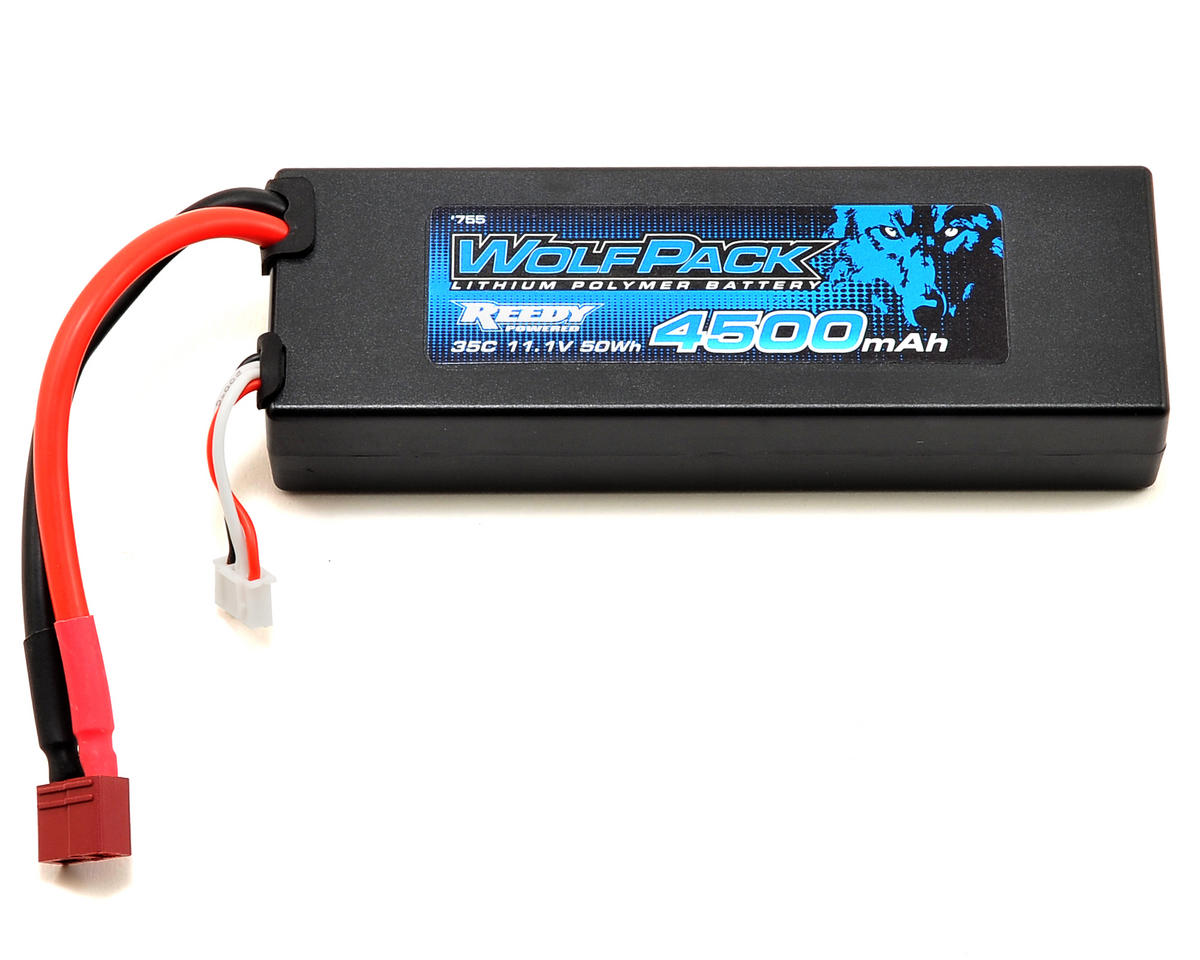 WolfPack Gen2 3S Hard Case LiPo Battery Pack 35C (11.1V/4500mAh) by Reedy