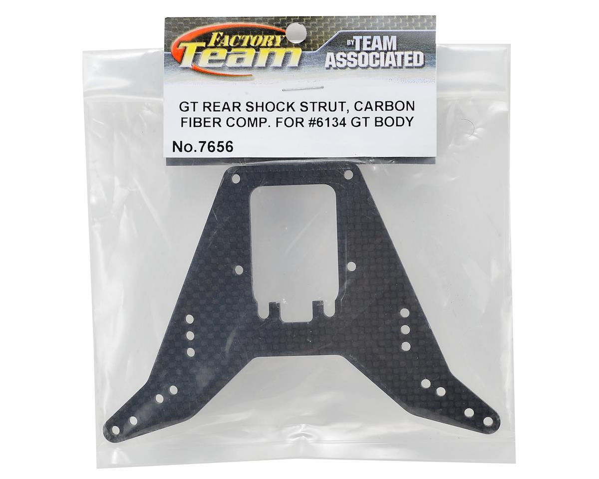 Team Associated RC10GT Carbon Fiber Rear Shock Tower