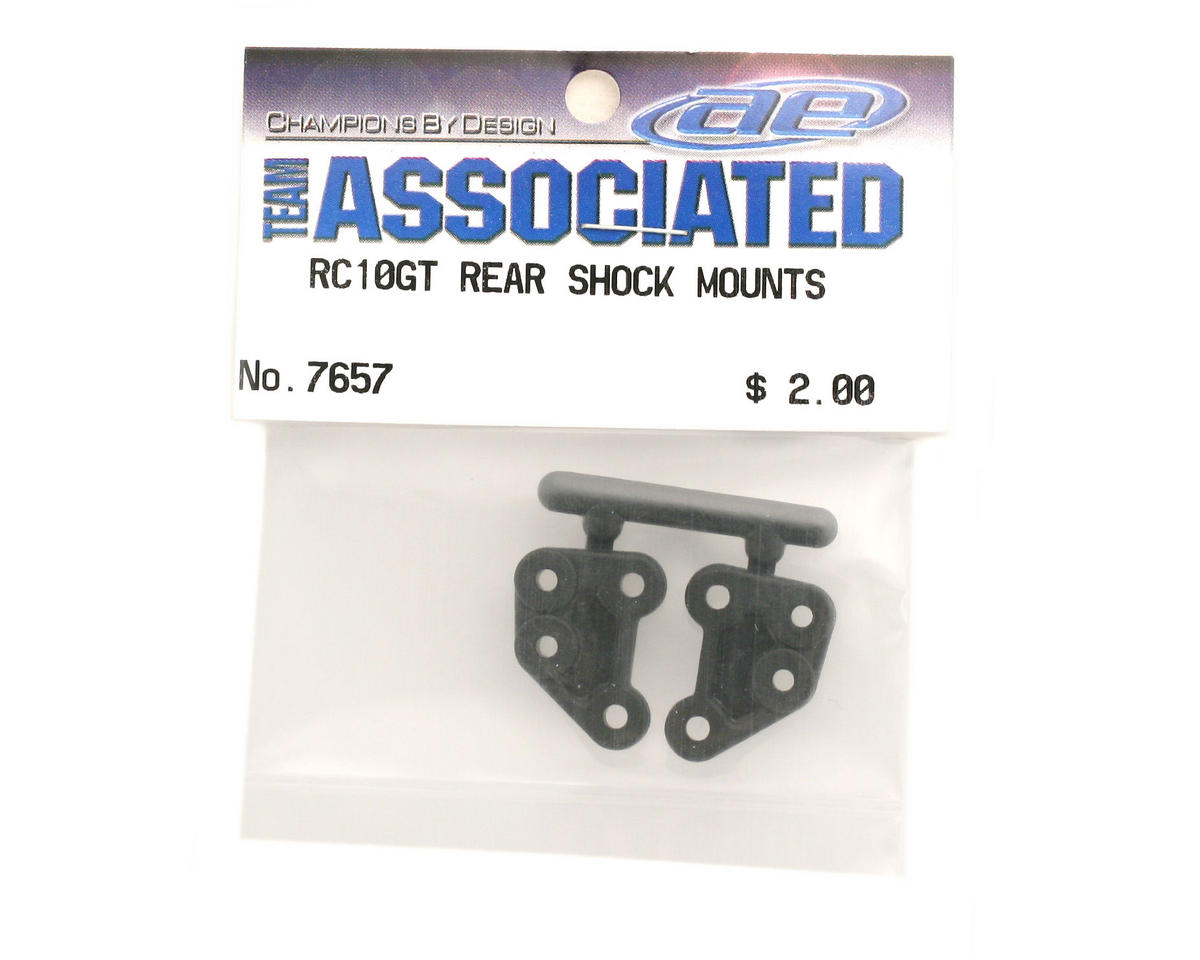 Team Associated Rear Shock Mounts Nylon GT