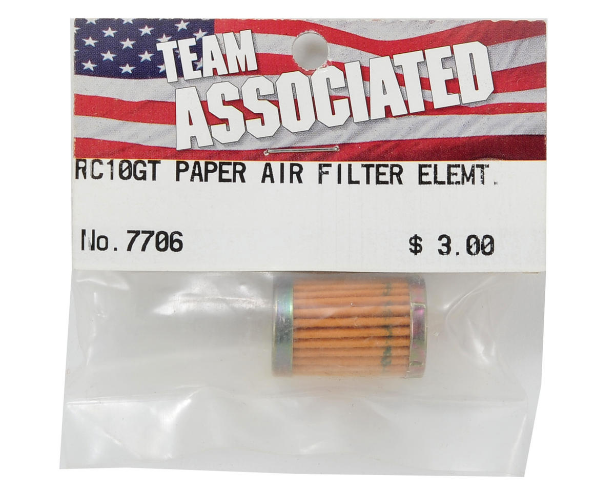 Team Associated Paper Air Filter Element (SC10GT/RC10GT)