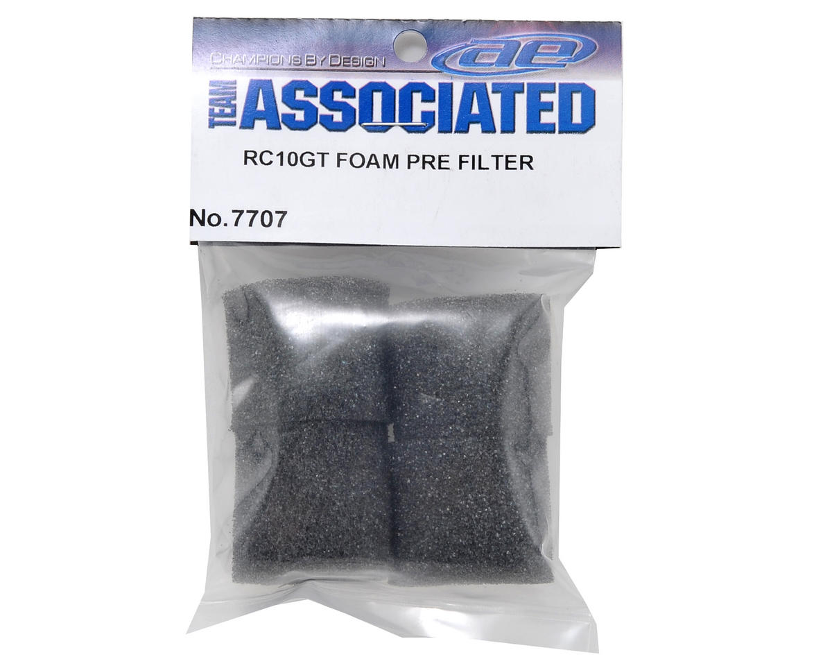 Team Associated Foam Pre-Filter Set (4) (SC10GT/RC10GT)