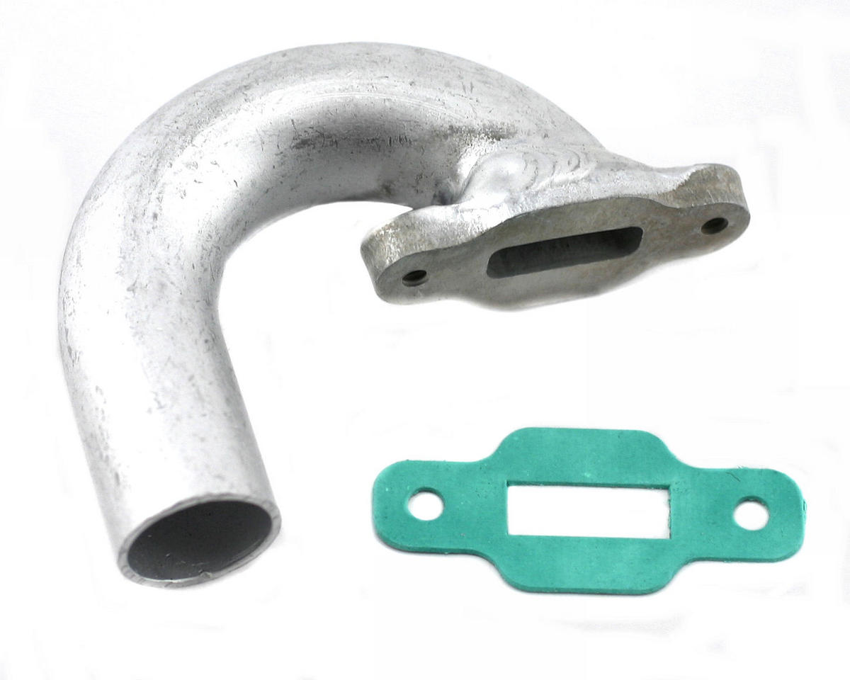 Team Associated Side Exhaust Manifold (Pull-Start)