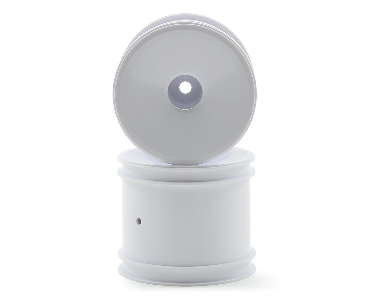 12mm Hex Stadium Truck Dish Wheel (2) (White) by Team Associated