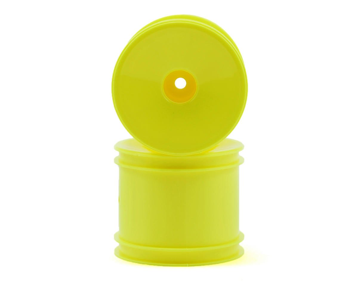 12mm Hex Stadium Truck Dish Wheel (2) (Yellow)