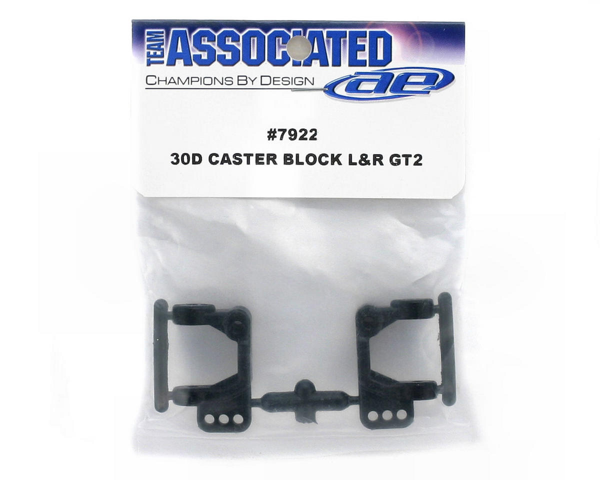 Team Associated 30 Deg. Caster Block L/R