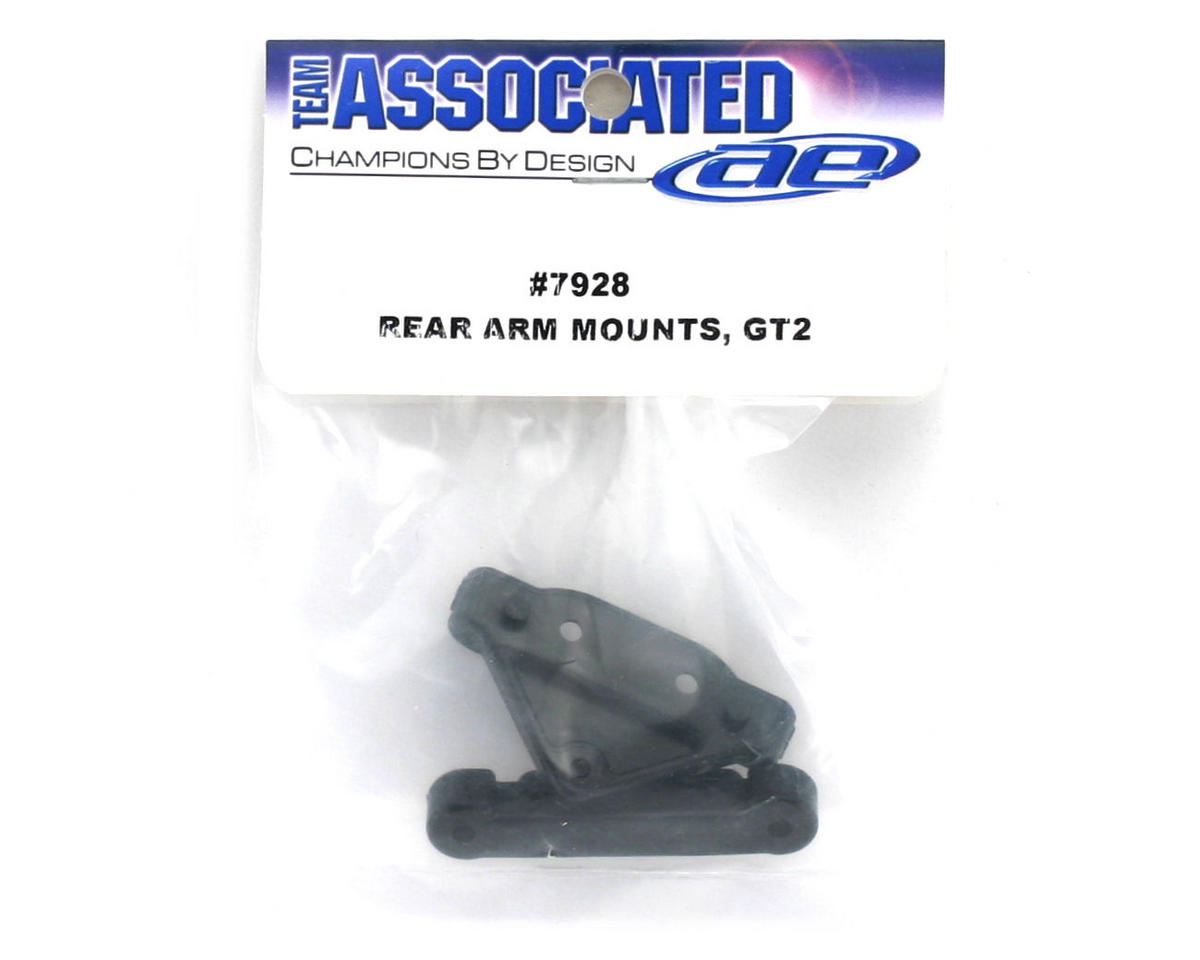 Rear Arm Mounts, 3 Degree (GT2) by Team Associated