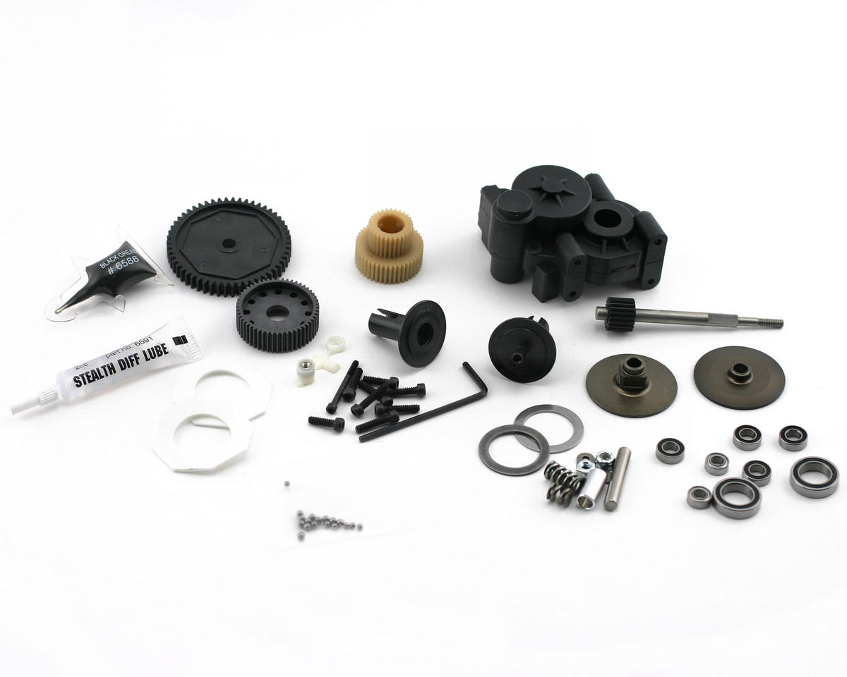 Team Associated RC10 GT2 Transmission Set (GT2)