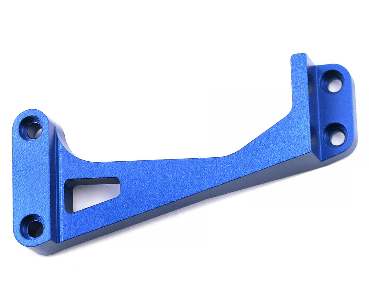 Team Associated Factory Team Aluminum Chassis Brace (Blue)