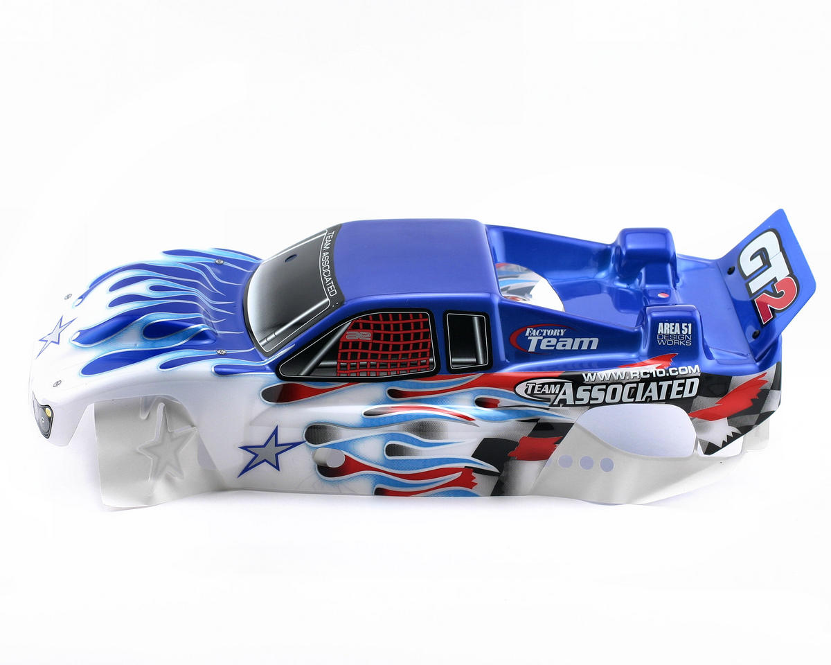 Team Associated Pre-Painted Body (White)