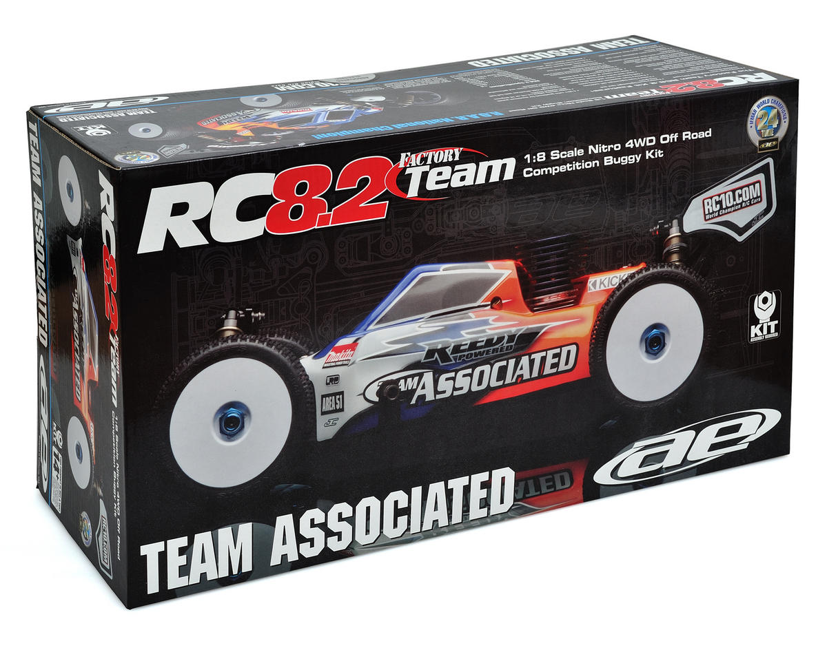 Team Associated Factory Team RC8.2 4WD Off-Road Buggy Kit