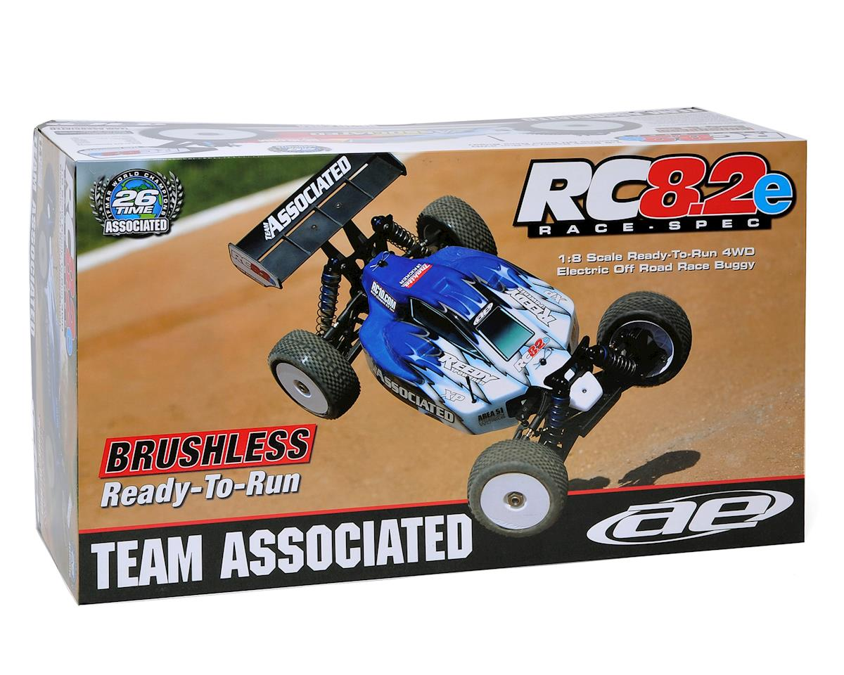 Team Associated RC8.2e RTR Blue