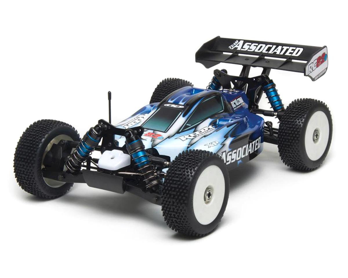 Team Associated RC8.2e Brushless RTR LiPo Combo Blue