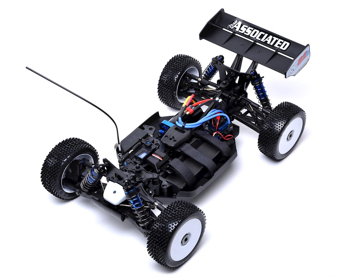 Team Associated RC8.2e Brushless RTR LiPo Combo Red