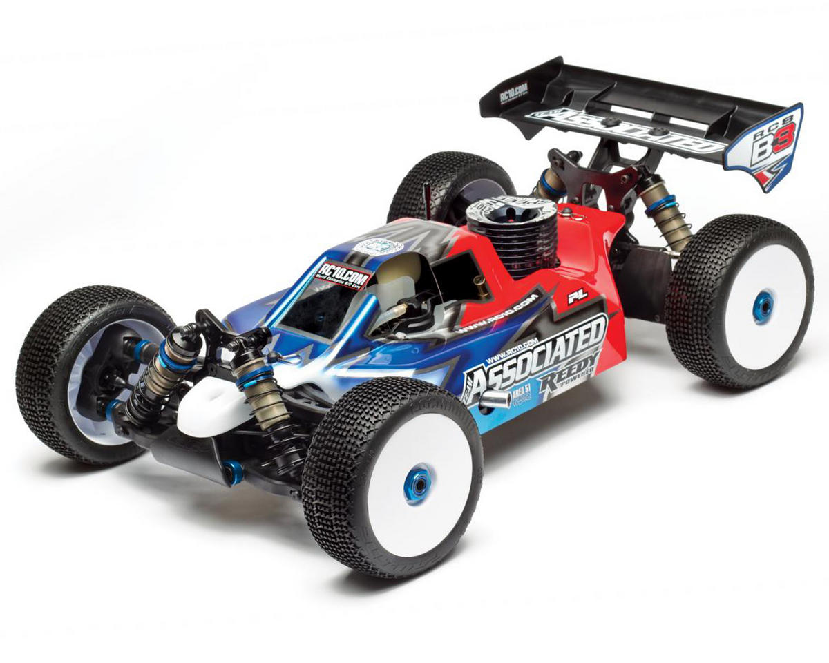 Team Associated RC8 B3 Team 1/8 4WD Off-Road Nitro Buggy Kit