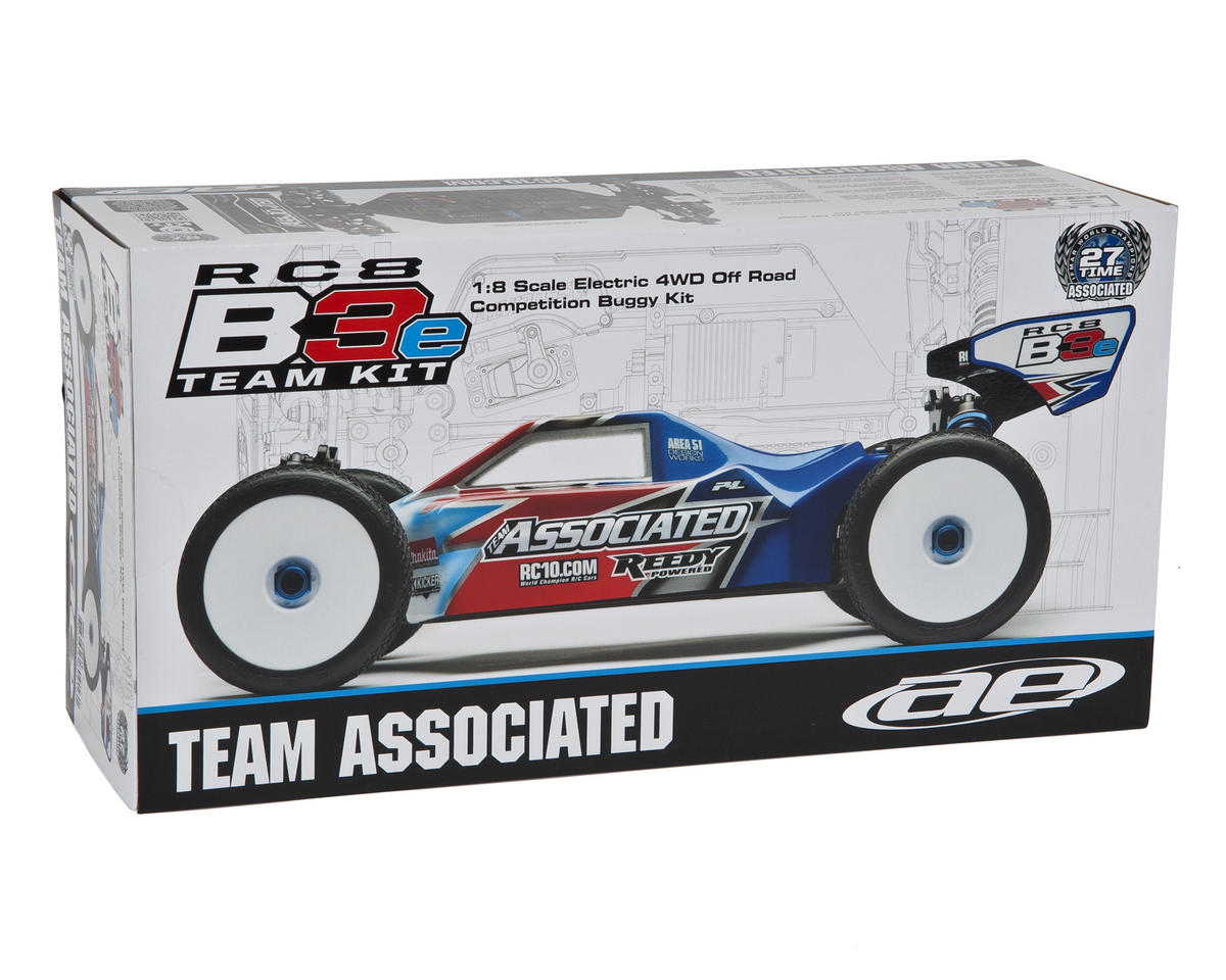 Team Associated RC8 B3e Team 4WD 1/8 Electric Buggy Kit