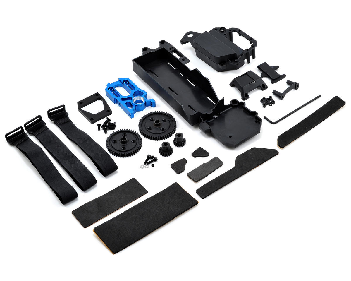 Team Associated RC8/RC8T/SC8 e-Conversion Kit Hardware Package