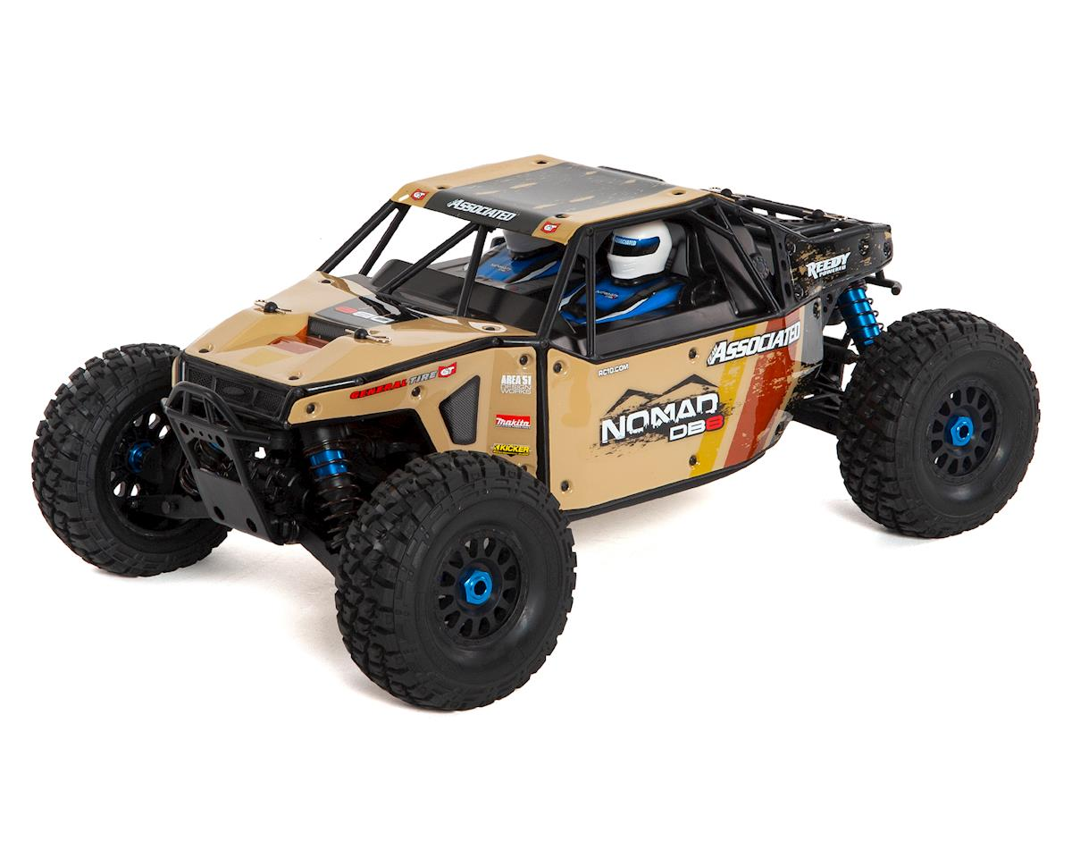 Limited Edition Nomad DB8 Ready-to-Run Beige by Team Associated