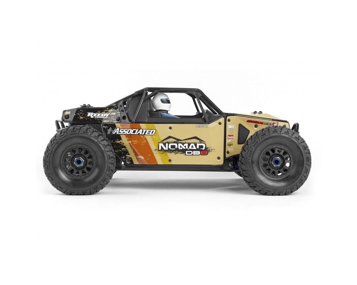 Team Associated Limited Edition Nomad DB8 RTR LiPo Combo Beige