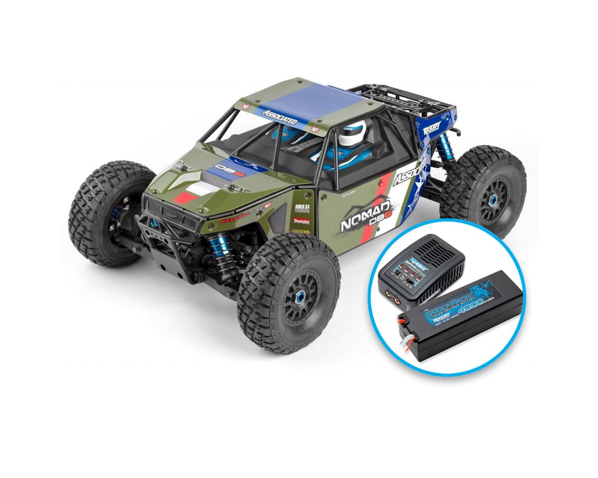 Team Associated Limited Edition Nomad DB8 RTR Combo (Green)