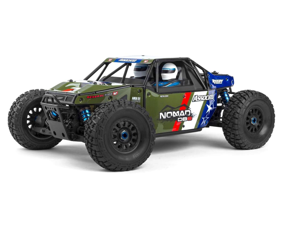 Team Associated Limited Edition Nomad DB8 Ready-to-Run Green