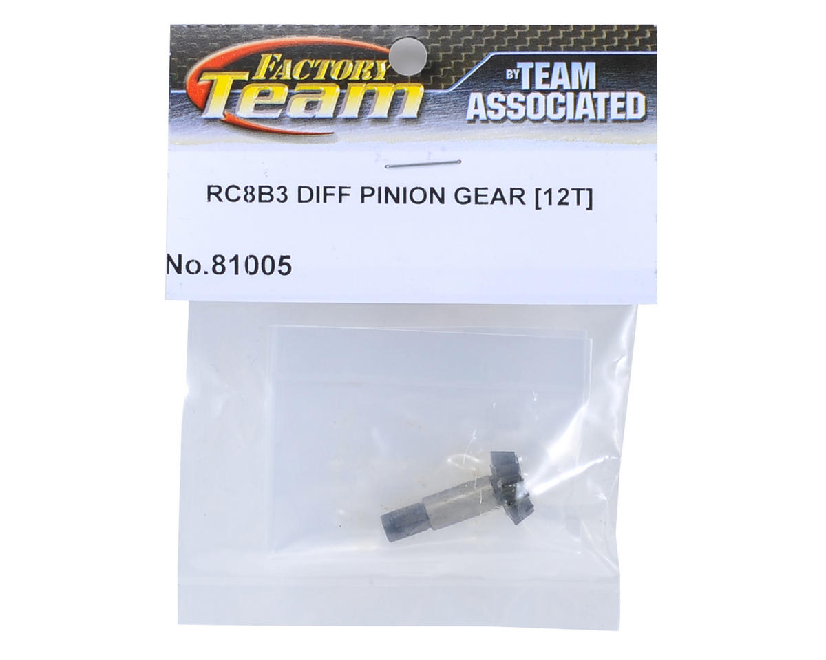 Team Associated RC8B3 Differential Pinion Gear (12T)