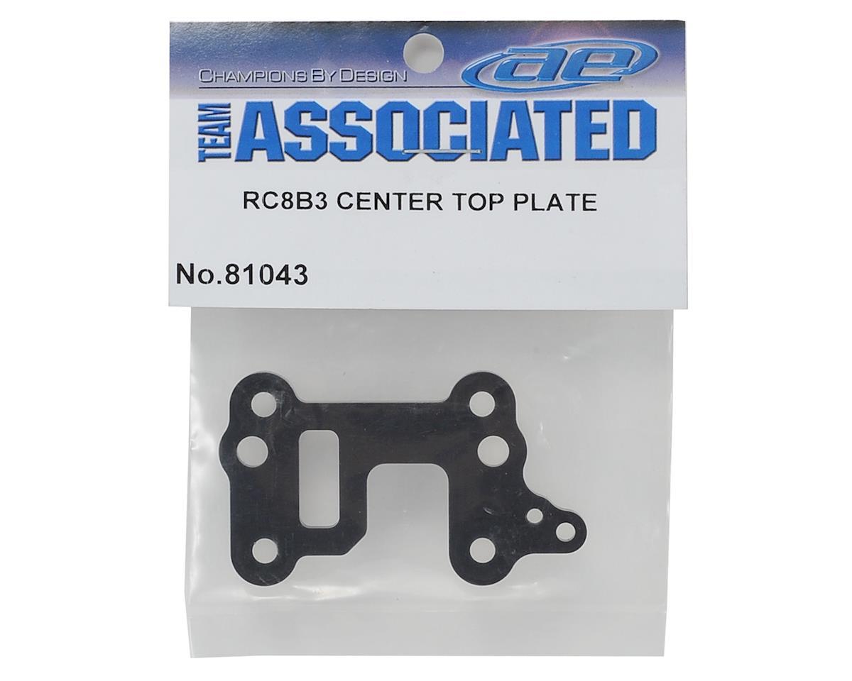 Team Associated RC8B3 Center Top Plate