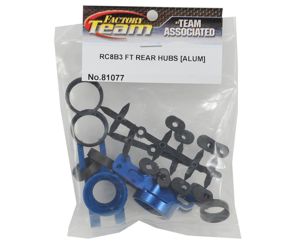 Team Associated RC8 B3 Factory Team Aluminum Rear Hubs (2)
