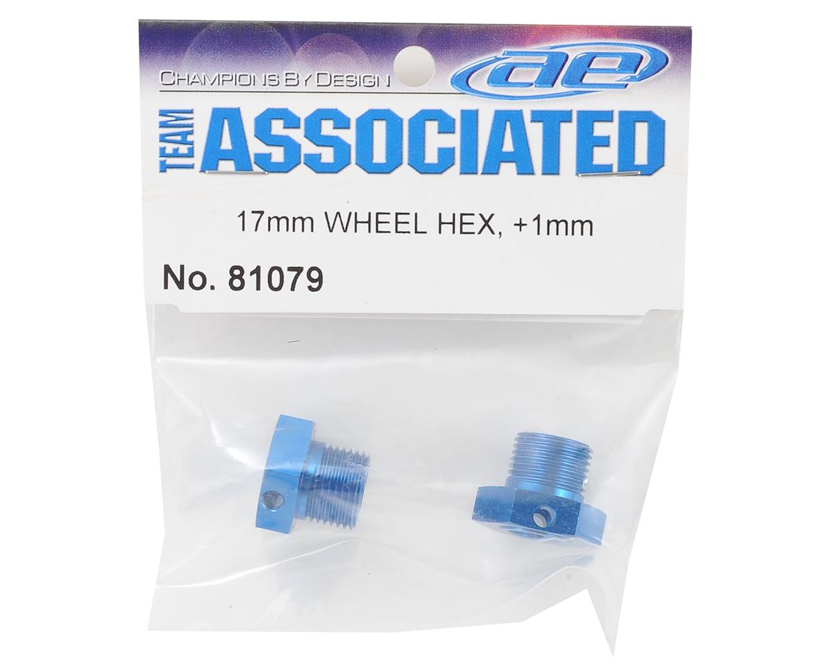 Team Associated RC8B3 +1mm Offset Wheel Hex (2)