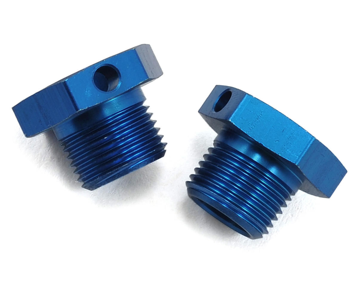 Team Associated 17mm Drive Hex (Blue) (2)