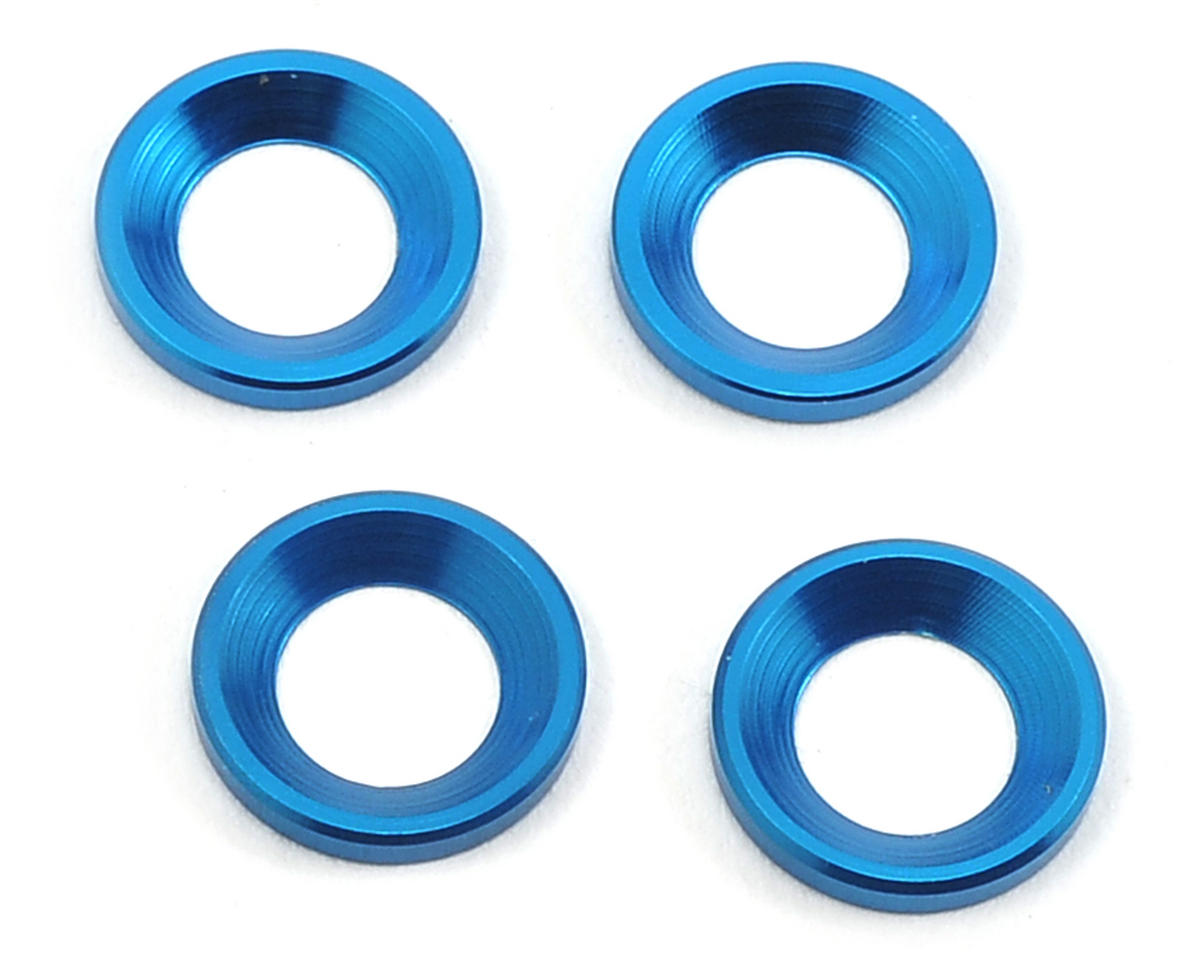 Aluminum Engine Mount Washer (4) by Team Associated