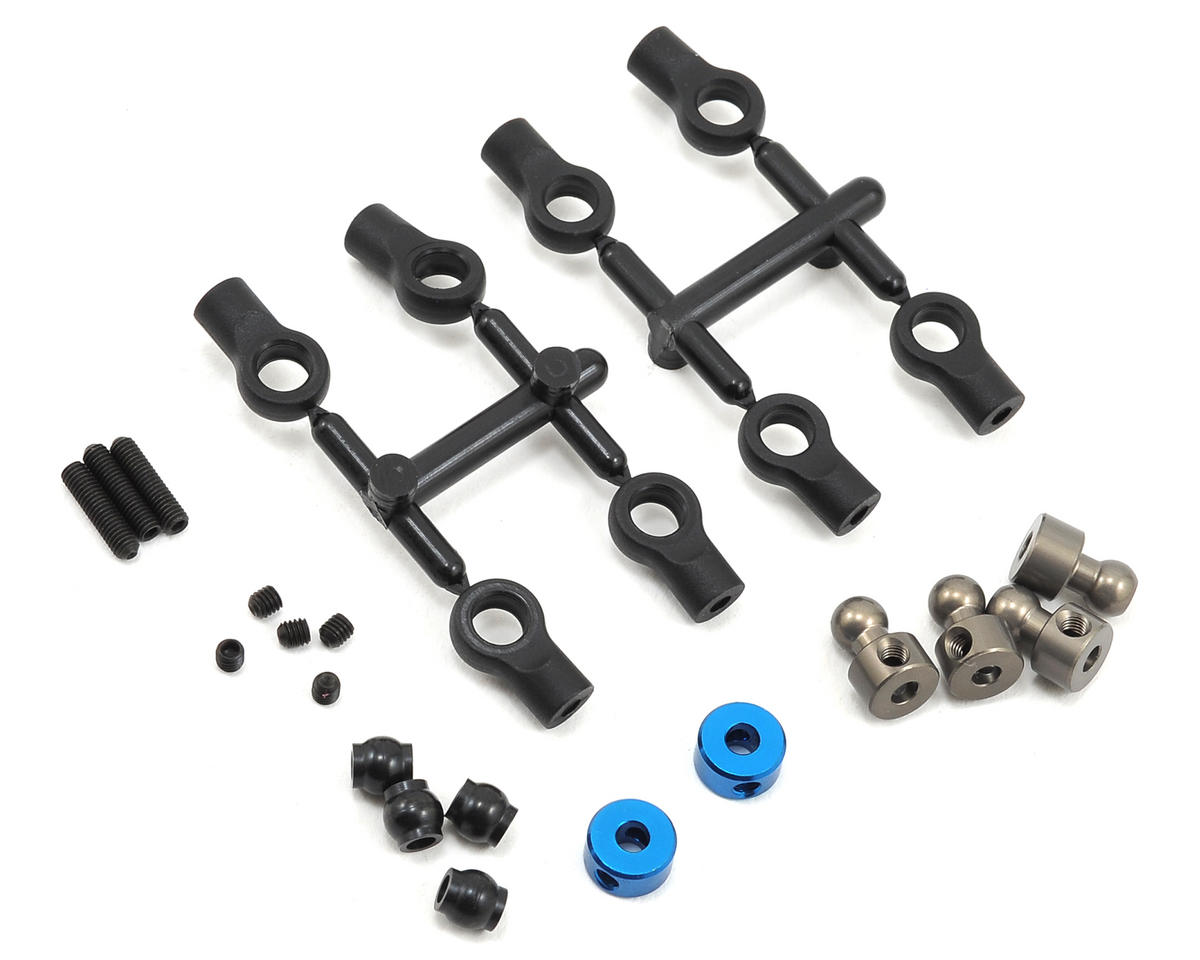 Team Associated Anti-Roll Bar Drop Link & Collet Set