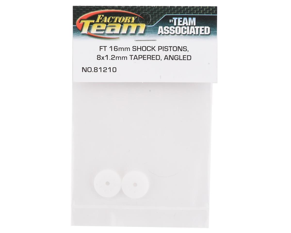 Team Associated Factory Team 16mm Big Bore Tapered Shock Piston (8x1.2mm) (2)