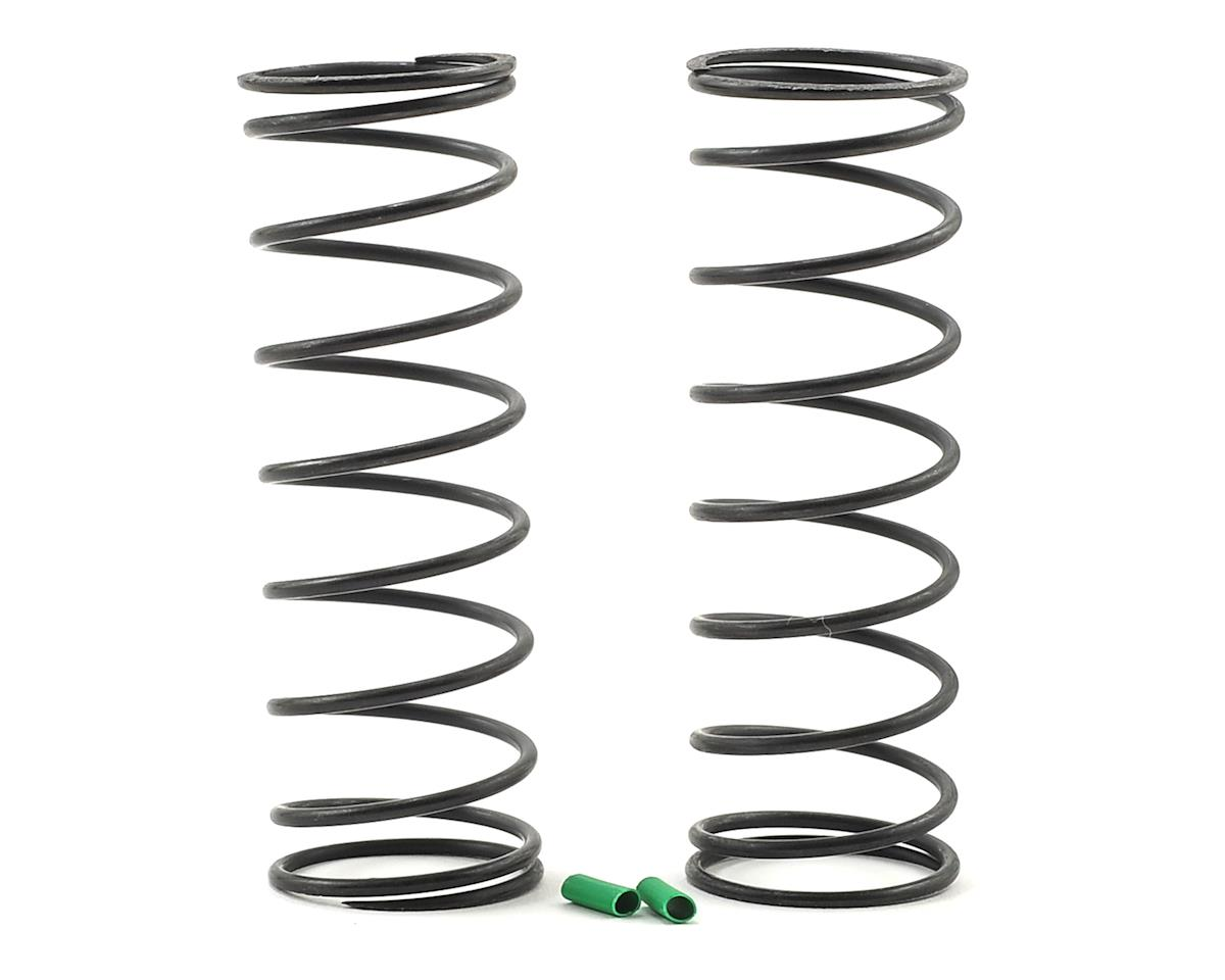 Team Associated RC8B3.1 Front V2 Shock Spring Set (Green - 4.9lb/in) (2)