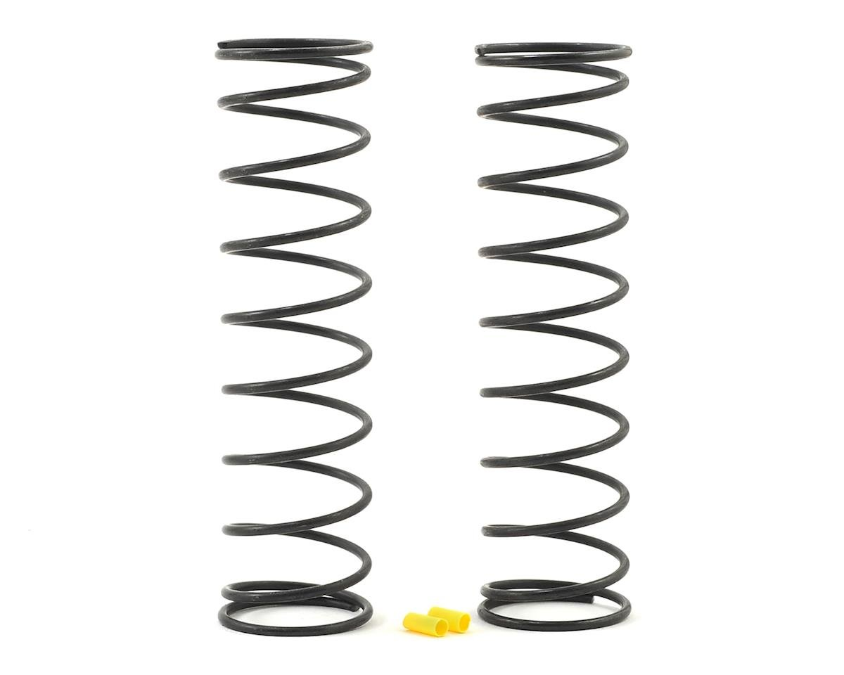 Team Associated RC8B3.1 Rear V2 Shock Spring Set (Yellow - 4.4lb/in) (2)