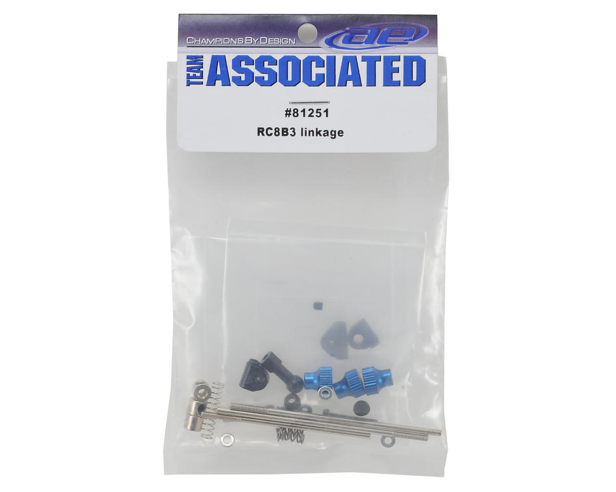 Team Associated Throttle/Brake Linkage Set