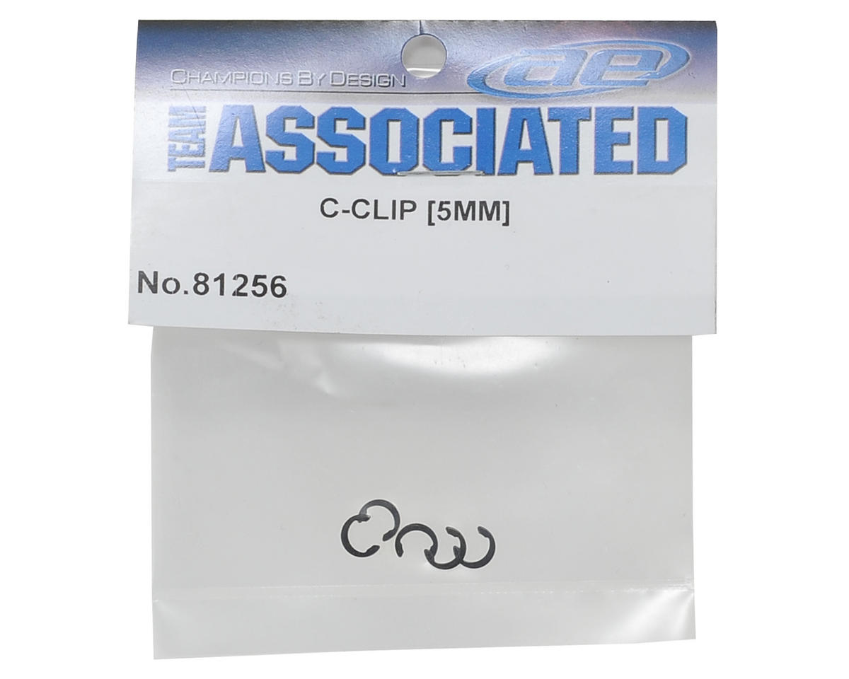 Team Associated 5mm C-Clip (6)