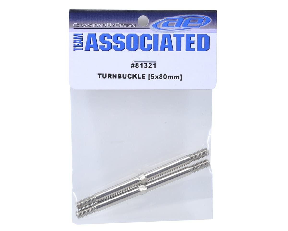 Team Associated 5x80mm Turnbuckle (2)