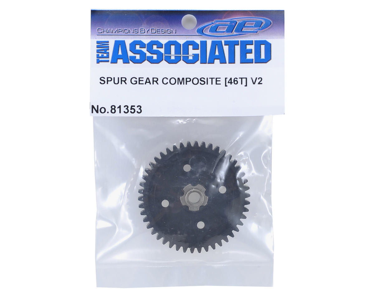 Team Associated Composite RC8T3e/RC8B3e V2 Spur Gear (46T)
