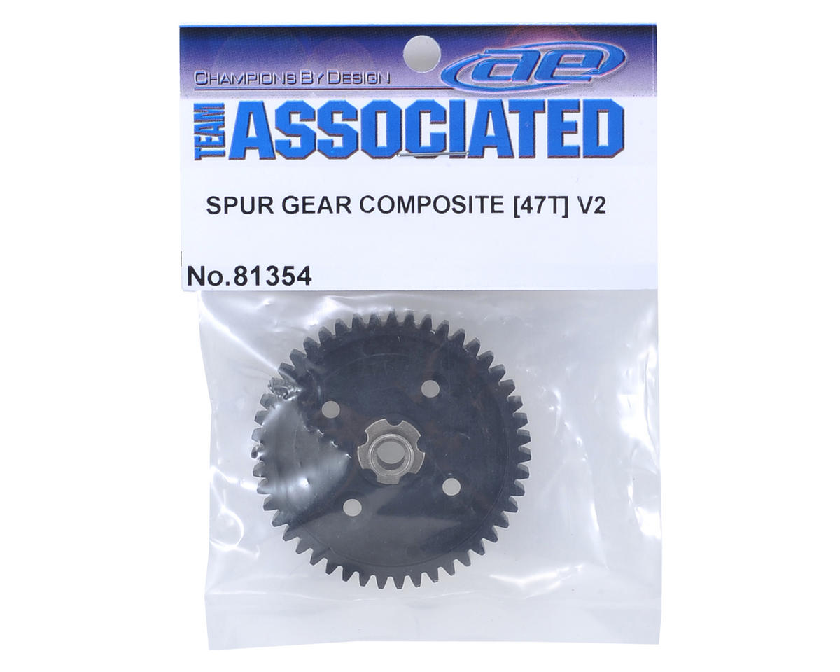 Composite RC8T3e/RC8B3e V2 Spur Gear (47T) by Team Associated