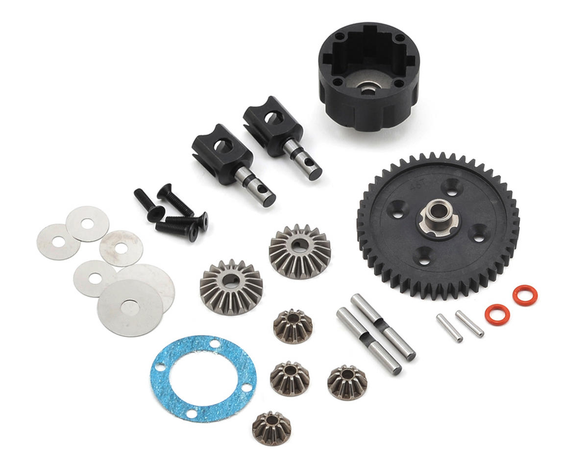 Complete V2 Center Differential (Electric) by Team Associated