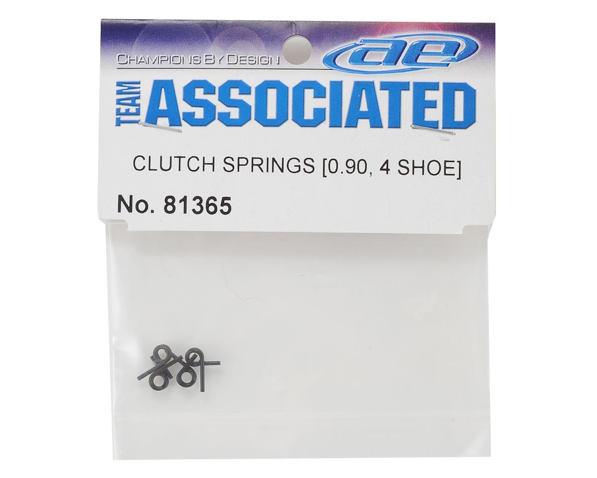 Team Associated 0.90mm 4-Shoe Clutch Springs (4)