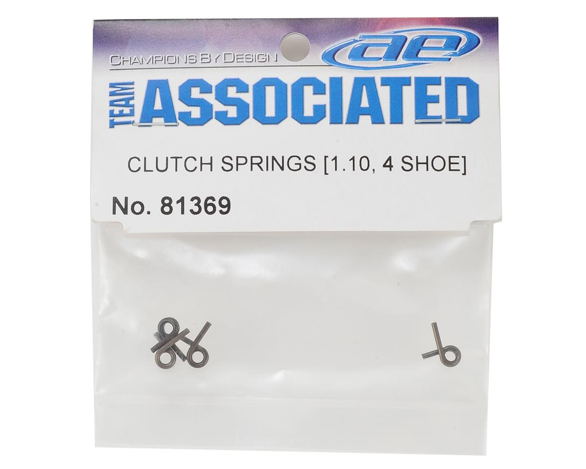 Team Associated 1.10mm 4-Shoe Clutch Springs (4)