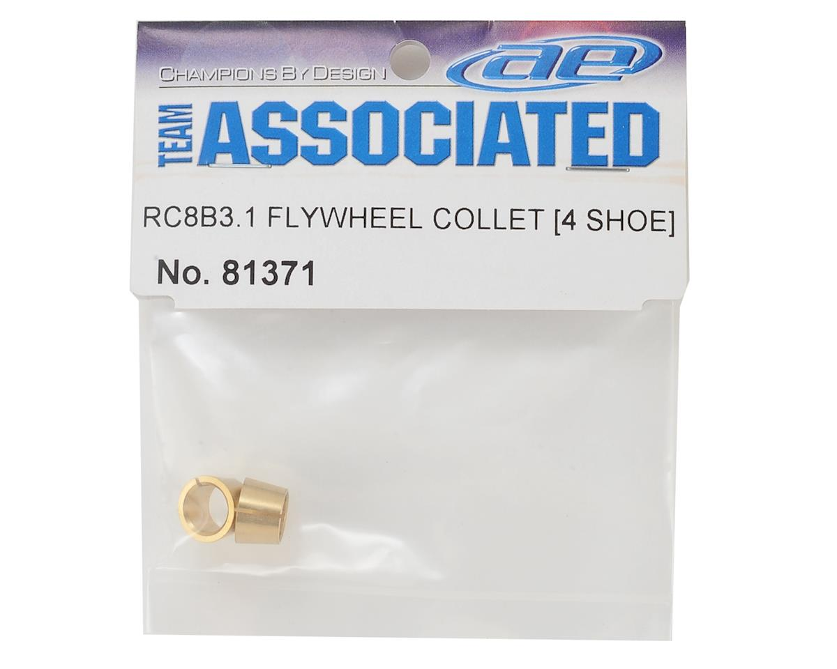 Team Associated RC8B3.1 4-Shoe Flywheel Collets (2)