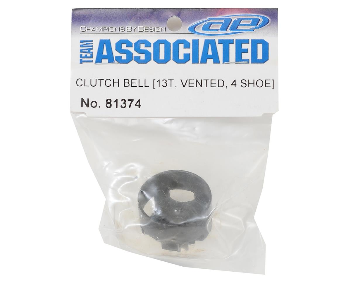 Team Associated 4-Shoe Vented Clutch Bell (13T)