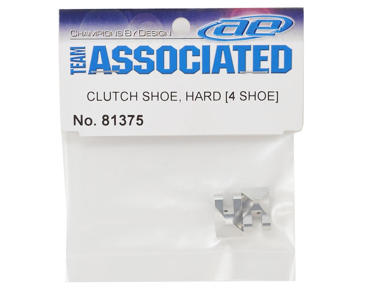 Team Associated 4-Shoe Aluminum Clutch Shoes (2) (Hard)